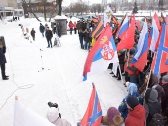 ВПерми прошёл митинг «Антимайдан»