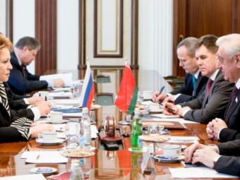 Беларусь иРоссия выстраивают согласованную политику намеждународной арене— Мясникович