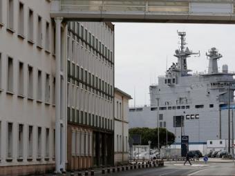 Посол Франции: поставка «Мистралей» России нестоит наповестке дня