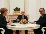 Путин: лидеры Германии иФранции верят вискренность России