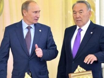 Путин иНазарбаев обсудили ход выполнения Минских соглашений вДонбассе