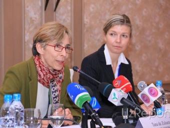 ВУзбекистан прибыла ограниченная миссия ОБСЕ