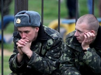 Служивших вВСУ крымчан могут освободить отпризыва вроссийскую армию