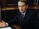 Нарышкин: Санкции США против РФ— попытка оправдать вину засобытия наУкраине