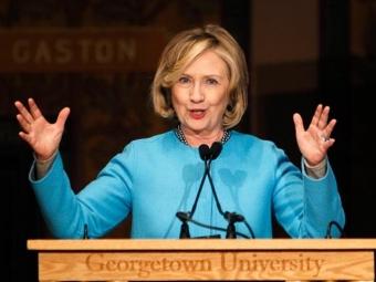 Хиллари Клинтон собирается вапреле объявить обучастии впрезидентских выборах