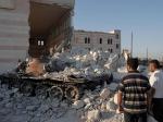 Разрушения вАлеппо иДуме— Сирия