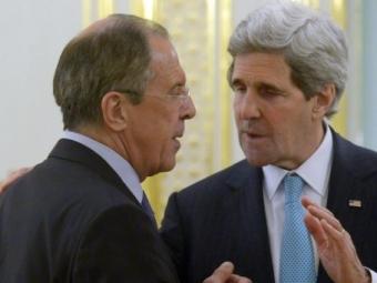 Керри откровенно поговорил сЛавровым про Украину
