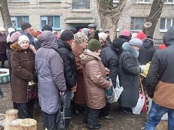 МЧС России отправило вДонбасс 17 гуманитарную колонну