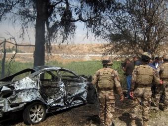 Входе боев иракской армии сгруппировкойИГ разрушена могила Саддама Хусейна