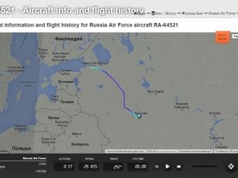 Самолет Путина приземлился вПетербурге— СМИ