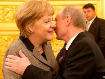 Путин приветствует желание Меркель приехать вМоскву 10мая— Кремль