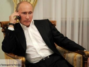 Путин поздравил израильского премьера потелефону