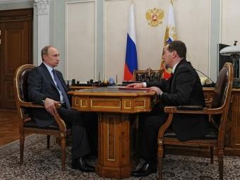 Путин иМедведев обсудили создание агентства поделам национальностей