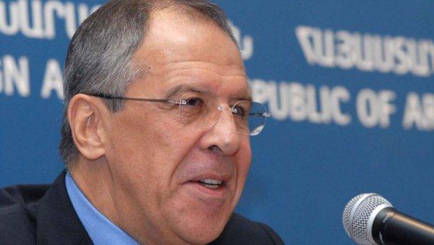 Лавров: нестоит ехать вКрым через Украину
