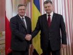 Порошенко начал встречу с Президентом Польши Коморовским