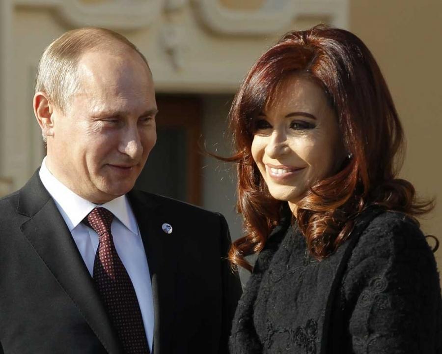 Путин обсудит с президентом Аргентины двусторонние связи и мировые проблемы — Кремль