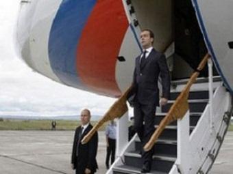 Д.Медведев находится с визитом в Таджикистане
