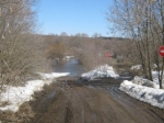 ВНижегородской области затопило мост через реку Пьяна