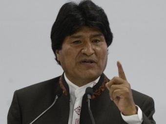 Телеоператор получил удар электрошокером отохраны президента Боливии