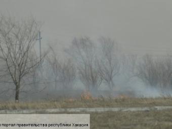 Около 900 домов повредил пожар вХакасии