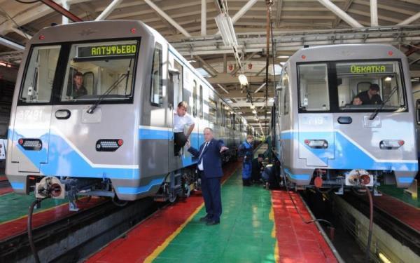 Насерой ветке метро теперь будут ходить только новые поезда