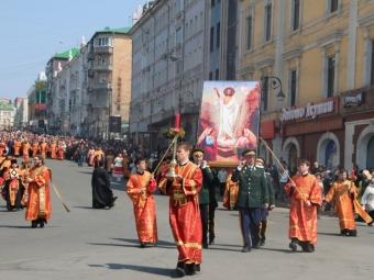 Праздник Светлой Пасхи отмечают воВладивостоке