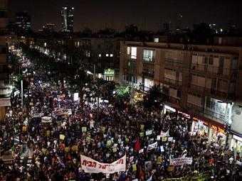 В Израиле прошли массовые акции протеста