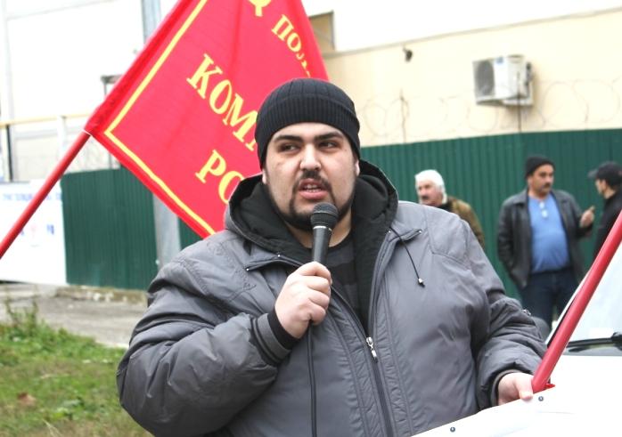 ВСтаврополе суд арестовал Михаила Абрамяна на7 суток