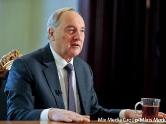 Президент Латвии решил неидти навторой срок