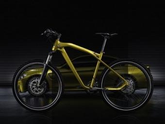 Компания BMW сделала велосипед встиле M-моделей