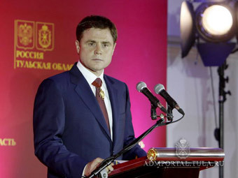 Груздев создаст правительство Тульской области