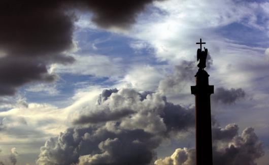 ВПетербурге ожидается усиление ветра