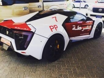 Полиция Абу-Даби получила один из7-ми суперкаров Lykan стоимостью 3,5 млн. долларов