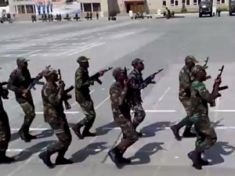 НаYoutube выложили марш африканцев Новосибирского общевойскового училища