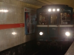 Неисправная дверь стала причиной задержки поездов насиней линии метро