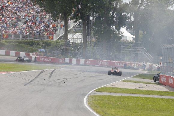 Российский пилот Квят стал девятым вовторой практике Гран-при Канады