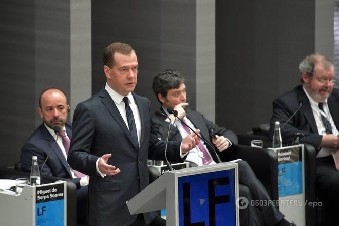 Москва небудет никого упрашивать вернуться нарынок РФ— Медведев