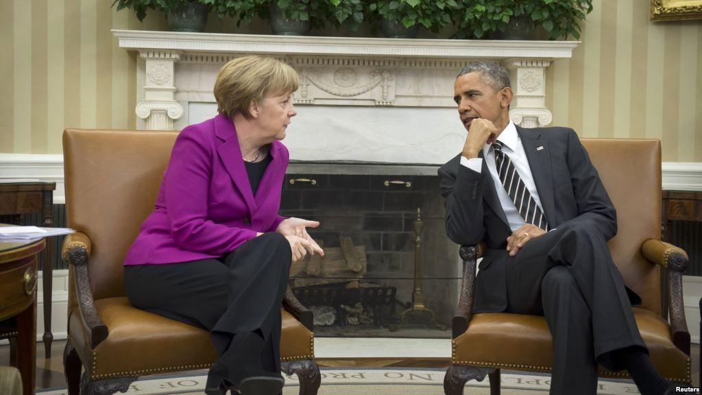 Меркель: США— «друг ипартнер» Германии