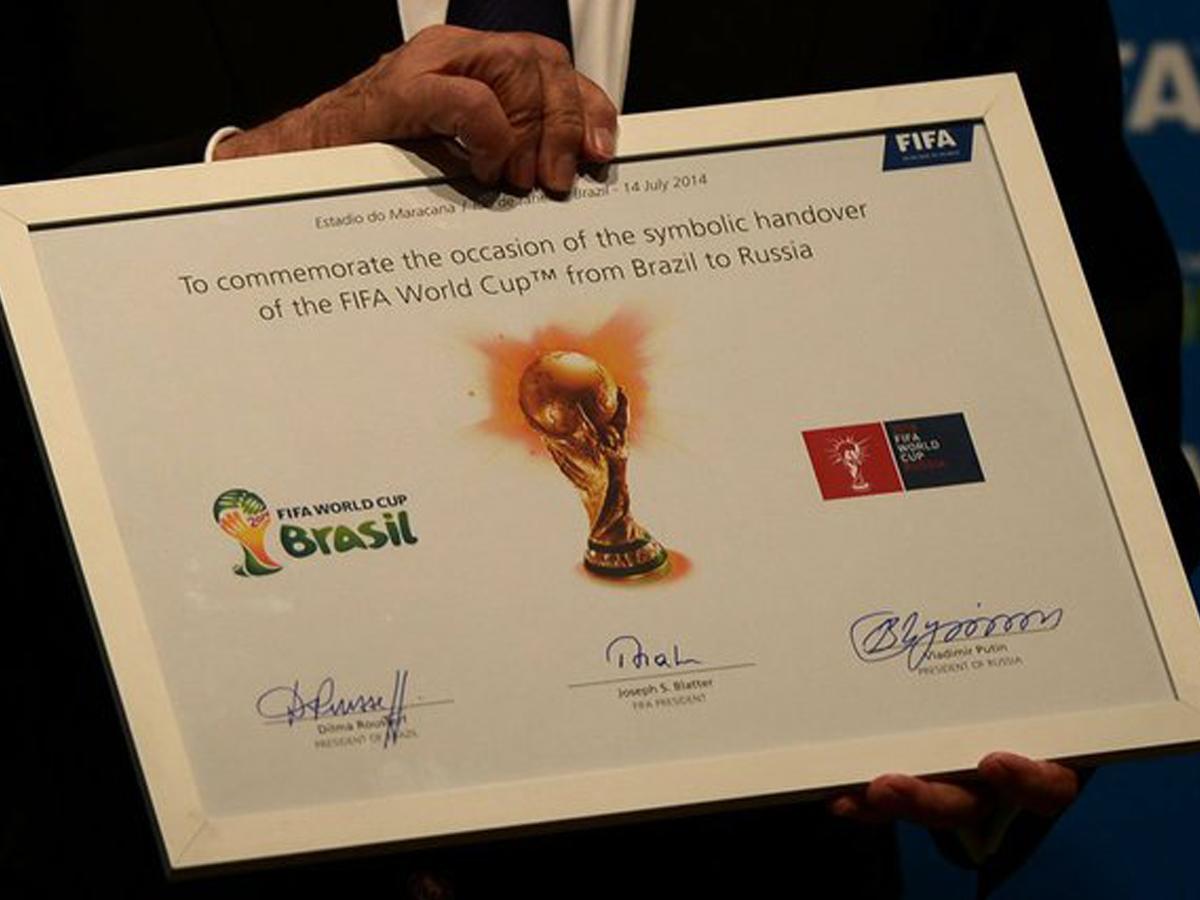 Российская Федерация получила право наЧемпионат Мира законно ичестно— ФИФА