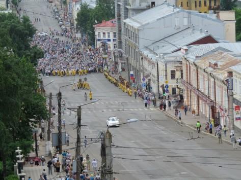 ВВеликорецком собралось около 75 тысяч верующих