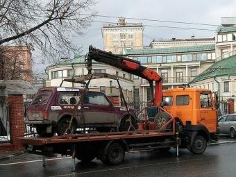 Стоимость эвакуации машин будет зависеть отмассы