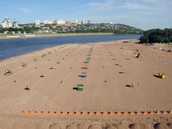 Мэр Уфы предлагает обустраивать пляжи наозерах для круглогодичного отдыха