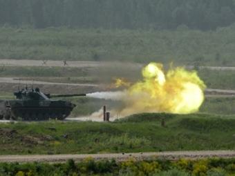 Полномасштабную войну показали нарепетиции форума «Армия-2015»