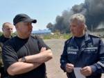 Названы две возможные причины возгорания нанефтебазе вВасилькове