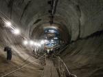 ВПетербурге проложили первый вРФ двухпутный тоннель вметро
