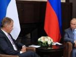 Владимир Путин встретился спрезидентом Финляндии