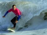 ВКалифорнии 66 сёрфингистов прокатились наодной доске