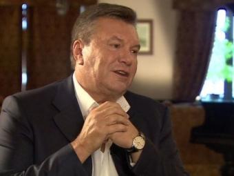 Виктор Янукович назвал Путина своим спасителем