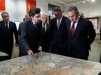 Выставка рассекреченных карт времен Великой Отечественной войны открылась встолице— Новости— Москва