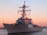 Впорт Батуми вошел американский эсминец Laboon